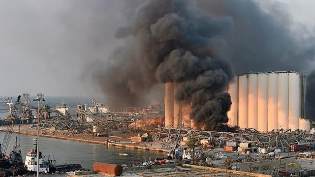 Beirut Líbano Explosión 4