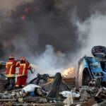 Beirut Líbano Explosión 2