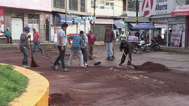 Lluvia Mercado La Piedad