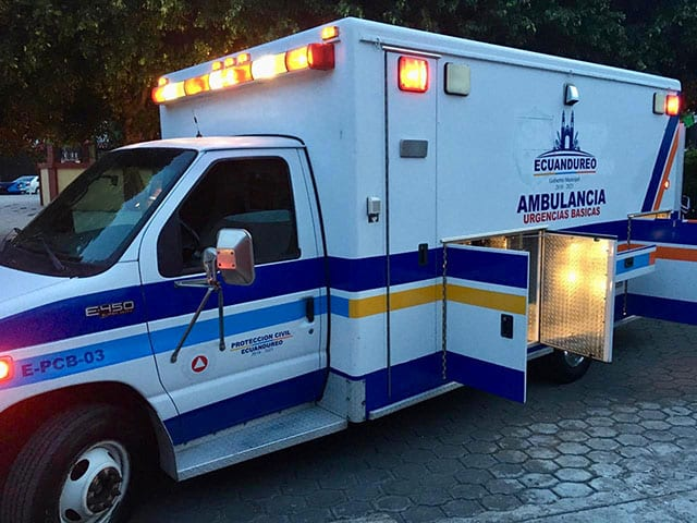Ambulancia Ecuandureo 2
