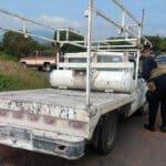 SSP Churintzio camioneta robada