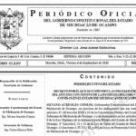 Fiestas Patrias 2020 Periódico Oficial