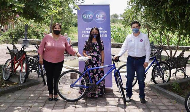 bicicletas DIF Guanajuato