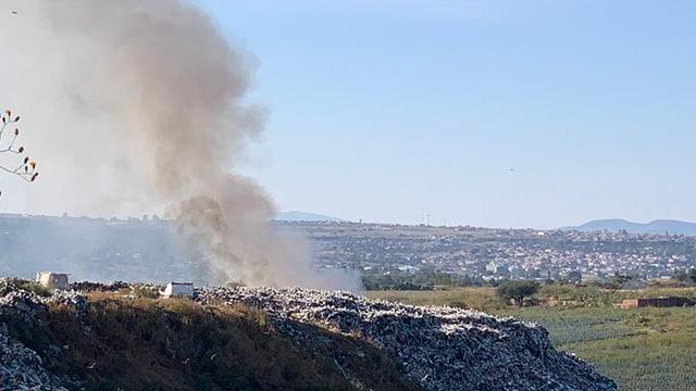 incendio basurero La Piedad 1