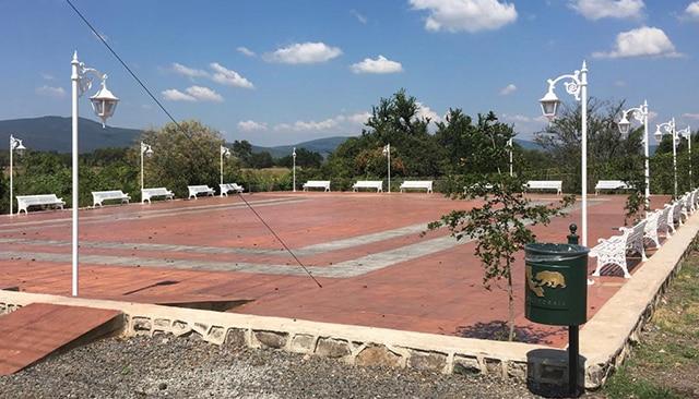 plaza Estancia de Gómz