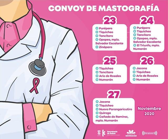 Convoy de la Salud Mastografías