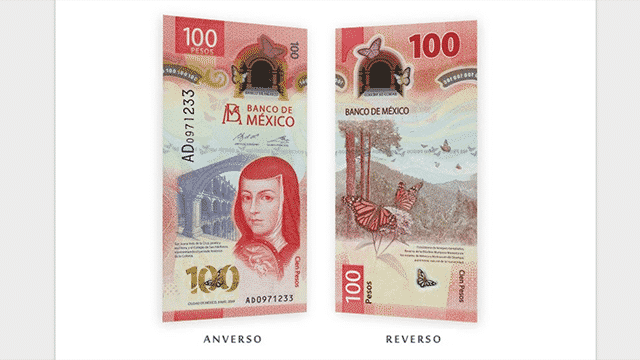 Billete $100 pesos