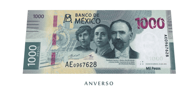 Billete 1000 pesos 1
