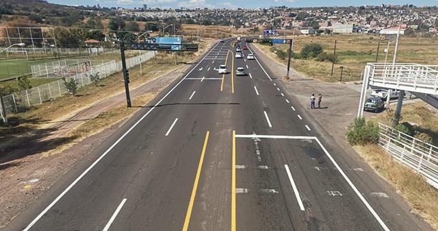 La Piedad balizan carretera a Numarán 2