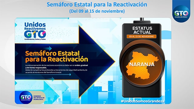 Semáforo Naranja Guanajuato 2