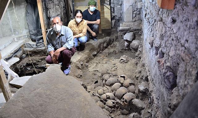 Tzompantli de Tenochtitlan 1