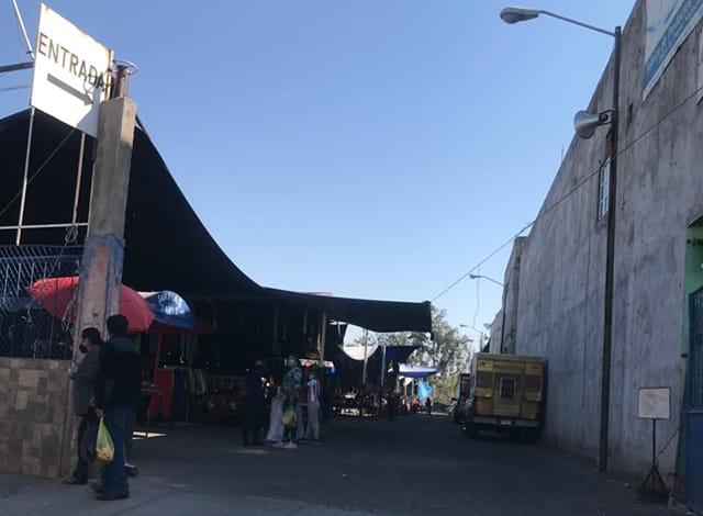 Tianguis La Piedad av Michoacán