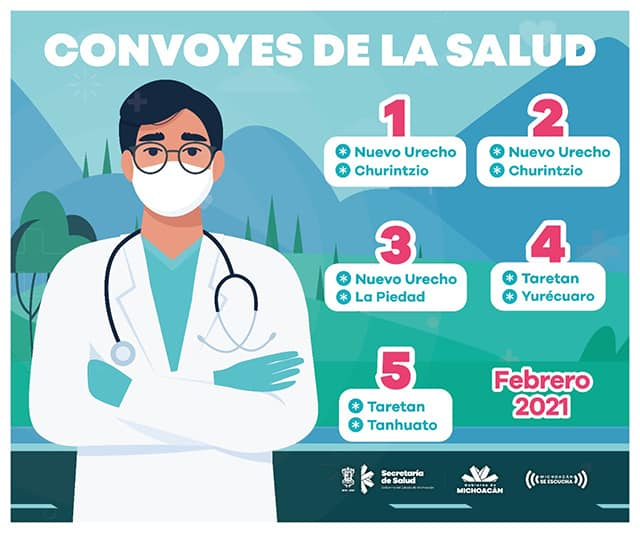 Convoy de la Salud 1 a 5 febrero