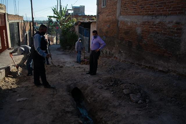 obras de pavimentación La Piedad 1