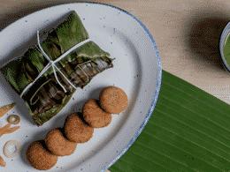 RECETAS Para el huachinango empapelado con hoja de plátano