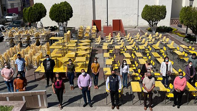 mobiliario escuelas ecuandureo
