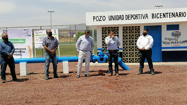 pozo Unidad Bicentenario SAPAS 2