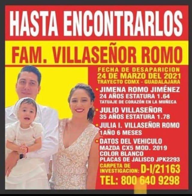 familia desaparecida