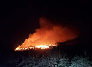 incendio basurero Degollado