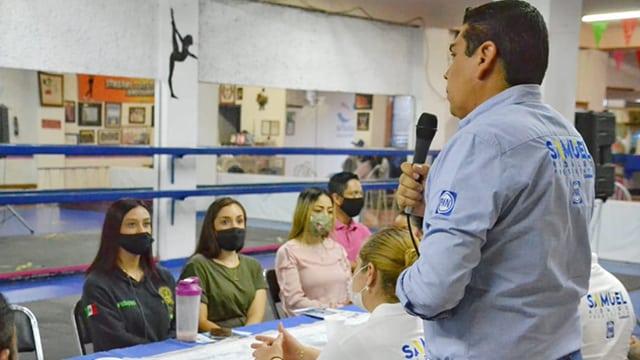 Deportistas Samuel Hidalgo